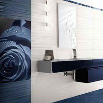 Baldosa para baño / de pared / de gres porcelánico / con motivos geométricos