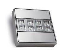 Iluminación de emergencia cuadrada / LED / de aluminio / IP42