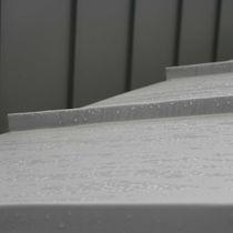 Cubierta de aluminio / con junta alzada