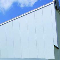 Revestimiento de fachada de aluminio / liso / en láminas / para fachada ventilada