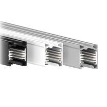 Sistema para iluminación sobre riel