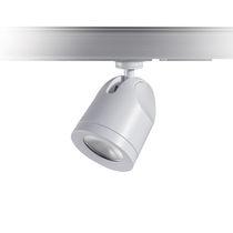 Iluminación sobre riel LED / redonda / de aluminio fundido / profesional