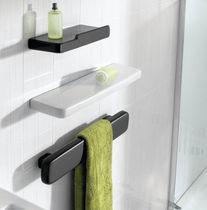 Toallero montado sobre consola / 1 barra / de pared / de metal