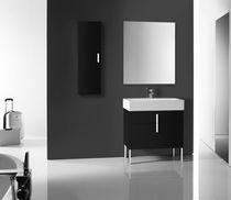 Mueble de lavabo moderno / de cerámica / de pie