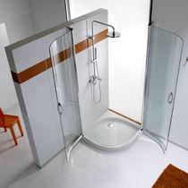 Set de ducha de pared / moderno / con duchas de mano