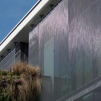 Revestimiento de fachada de metal / texturado / de rejilla