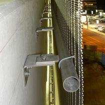 Sistema de fijación metal / para revestimiento de fachada / para exterior