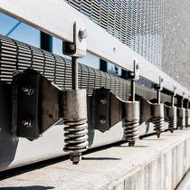 Sistema de fijación de acero inoxidable / para muro-cortina / para revestimiento / para muro
