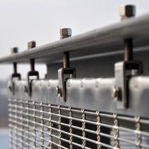 Sistema de fijación acero inoxidable / para revestimiento de fachada / para muro-cortina / para exterior