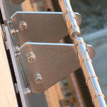 Sistema de fijación metal / para revestimiento de fachada / para exterior / para interior