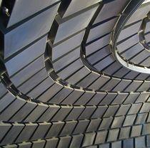 Falso techo de malla metálica / de acero inoxidable / tipo panel / acústico