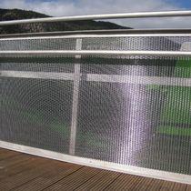 Barandilla de metal / con barrotes / de exterior / para terraza