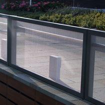 Barandilla de metal / con barrotes / de exterior / para balcón