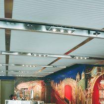 Falso techo de metal / tipo panel / acústico