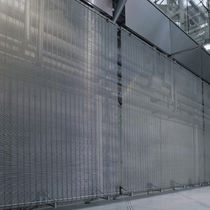 Panel decorativo para revestimiento interior / de malla metálica / aspecto metal / transparente