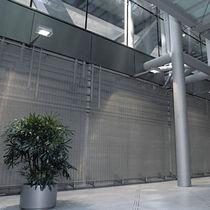 Panel decorativo para decoración interior / de malla metálica / aspecto metal / transparente