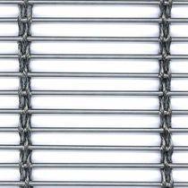 Falso techo de malla metálica / de acero inoxidable / tipo panel / curvado
