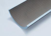 Panel de construcción para interiores / de fibra de vidrio / de poliestireno / flexible