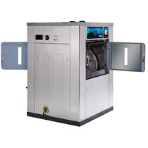Lavadora-centrifugadora de carga frontal / para suelo / barrera sanitaria / profesional