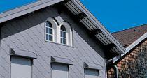 Revestimiento de fachada de zinc / de metal / texturado / de panel