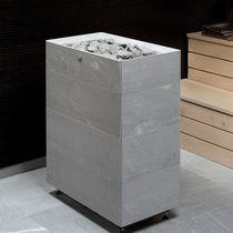 Estufa eléctrica / moderna / de esteatita / para sauna