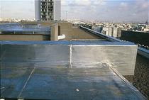 Membrana impermeabilizante para techado / de prevención de incendios / de elastómero / bituminosa