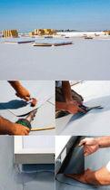 Membrana impermeabilizante para techado / en rollo / de PVC