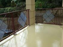 Pavimento de resina / barnizado con poliuretano / encerado / aspecto hormigón