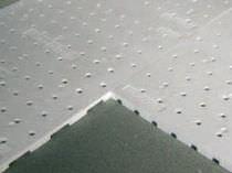 Membrana de drenaje con nódulos / de poliestireno / drenaje de tejados vegetales