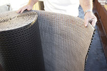 Membrana de drenaje no tejida / de polipropileno / drenaje de tejados vegetales