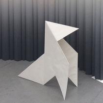 Membrana textil de papel / para tabique / ignífuga / impresa