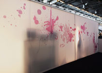 Membrana textil de papel / para muros cortina / ignífuga / 100 % reciclable