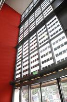 Muro cortina de panel / con panel fotovoltaico