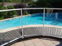 Barrera de protección / fija / de aluminio / para piscina