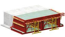 Encofrado de modulares / metal / para túneles