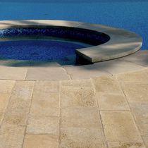 Baldosa para playa de piscina / para suelo / de piedra natural / mate