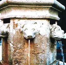 Fuente pública / de piedra / clásica