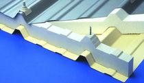 Aislante térmico / de poliestireno expandido / para tejado metálico / para techado