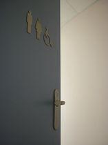 Pictograma para puerta acero inoxidable