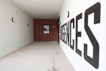 Placa de señalización de pared / de acero inoxidable / de interior