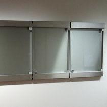 Panel indicador de pared / de interior / de metal