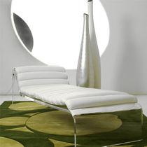 Chaise longue moderna / de cuero / de interior / para uso residencial
