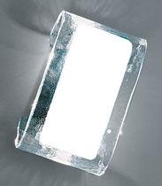 Aplique moderno / de vidrio soplado / de cristal de Murano / de incandescencia