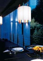 Lámpara suspendida / moderna / de vidrio soplado / de cristal de Murano