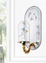 Aplique moderno / de vidrio soplado / de cristal de Murano / LED