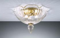 Plafón clásico / de vidrio soplado / de cristal de Murano / de metal