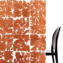 Panel decorativo para tabique / de resina / aspecto metalizado / de etiqueta GreenGuard®