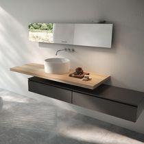 Radiador de agua caliente / espejo / moderno / para baño