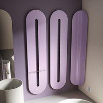 Radiador toallero de agua caliente / eléctrico / de acero / de aluminio
