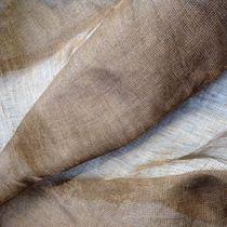 Visillo de color liso / de cobre / de lino